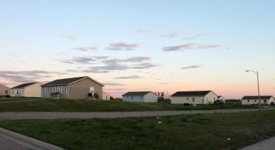 Housing projects, Turtle Mountain, North Dakota